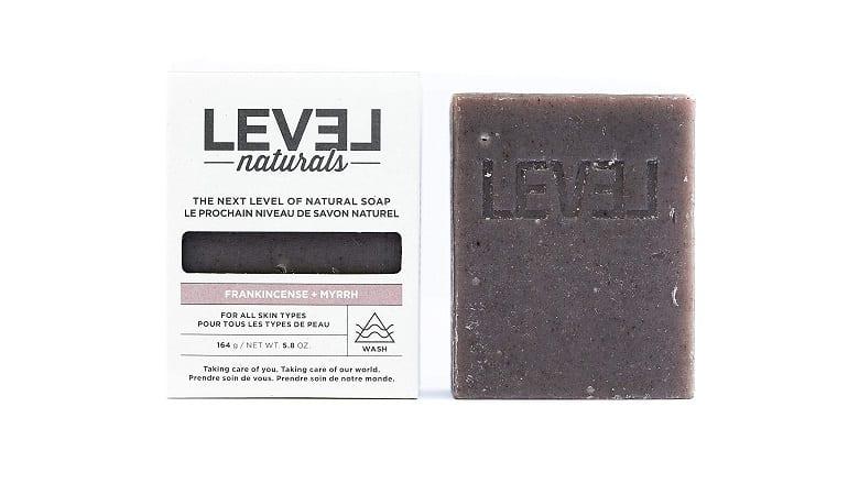 Frankincense + Myrrh Bar Soap from Level Naturals